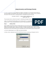 Drainage Density