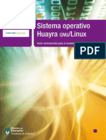 Manual Huayra gnu/Linux - Programa Conectar Igualdad - Argentina