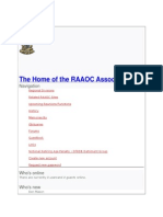 The Home of the RAAOC Association