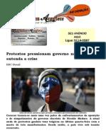 Protestos Pressionam Governo Na Venezuela; Entenda a Crise