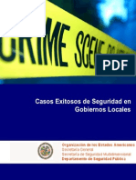 Experiencias Exitosos de Seguridad en Gobiernos Locales