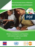 2014 Myanmar Census Q&A_english_1