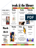 Perth Library March Break Acitivities