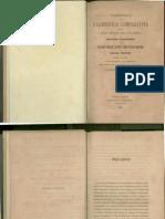 Compendio Di Grammatica Comparativa Schleicher