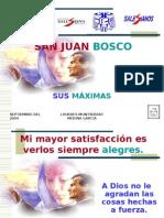 MAXIMAS DE DON BOSCO