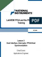 FPGA Lesson 3 (Host Interface)