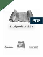 Historia de La Biblia Alumno