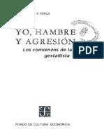 Perls Fritz Yo Hambre Y Agresion