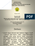 Laporan Kasus Crush Injury