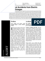 Chemical Accidents From Electric Power Outages
