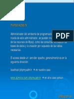 mySQL y php