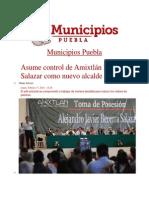 17-02-2014 Municipios Puebla - Asume control de Amixtlán Becerra Salazar como nuevo alcalde.pdf