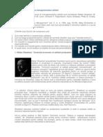 Principalii Precursori Ai Managementului Calitatii