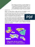 Los Puertos Maritimos Lacustes y Fluviales de Centro America
