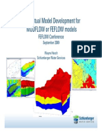 Conceptual Model Development for Modflow or Feflow Models