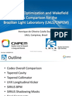 TWIICE 2014 - Henrique Impedance Optmization and Codes Comparison for LNLS