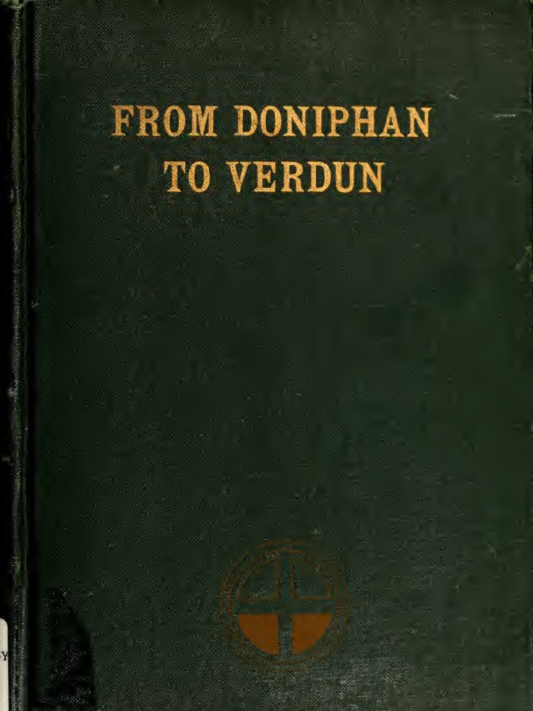 (1920) From Doniphan to Verdun   Division (Military)   Regiment 7b95e7dc3f2