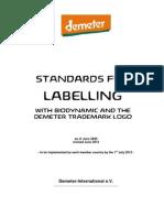 DI Labelling Stds Demeter Biodynamic 12-e