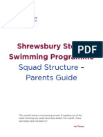 Swimming - Parents Guide