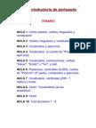 Curso introductorio de portugues
