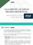 Analisis Areas Recreo Deportivas
