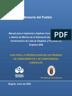 Cartilla Orientacion Defensoria Del Pueblo