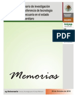 Memorias X Seminario INIFAP 2