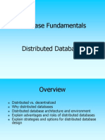 Distributed Databases 1A