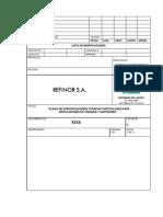 01.Especificación para Instalación de tanques y surtidore
