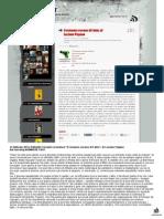 """14 febbraio 2014, Raffaello Ferrante recensisce """"Il romanzo osceno di Fabio"""", di Luciano Pagano, sul suo blog NOWHERE FAST"""