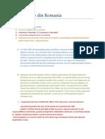 Constitutiile Din Romania Cls XI-A