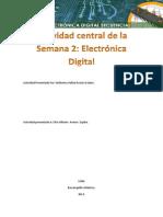 Desarrollo a la actividad Central. Semana 2. Elèctronica Digital.
