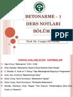 BETONARME - 1