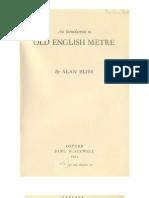 Old English Meter