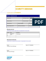 Data Security Design Template