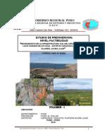 Estudio de Factibilidad Lago Sagrado Fina Octubre