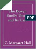 Bowen Family Theory