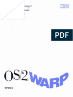 G25H-7104-00 OS2 WARP V3 Presentation Manager Programming Guide Advanced Topics Oct94