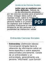 Clase II Periodismo II La Entrevista en Las Ciencias Sociales