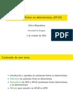 Automatas Finitos No Deterministas