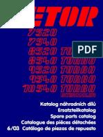 Zetor 7520-10540 Katalog 6-03