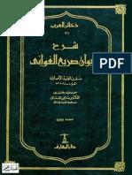 شرح ديوان صريع الغواني.pdf