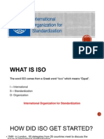 Presentation on ISO