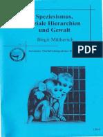 Mütherich - Speziesismus, soziale Hierarchien und Gewalt (TAN).pdf
