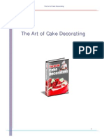 Art of Cake Decorating