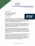 CAP Letter (Speaker Sam Smith)