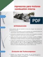 turbocompresores para motores de combustión interna.pptx