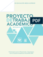 Proyecto de Trabajo PDF