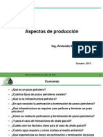 Aspectos de Produccion