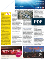 Business Events News for Wed 19 Feb 2014 - Accor to Kakadu, BECA chair, AIME pics, Marriott, MEA, Dockside, Fiji and more